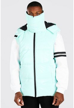 Mint MAN Dash Snood Gilet