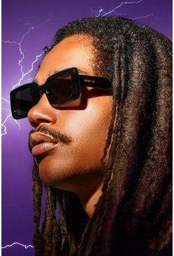 Black MAN x Roberi & Fraud Square Frame Sunglasses