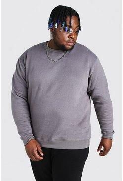 Slate Plus Size Basic Sweater
