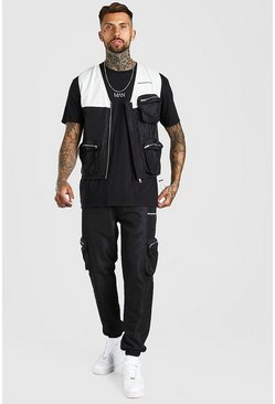 Black Man Official Utility Set With 3D Pockets