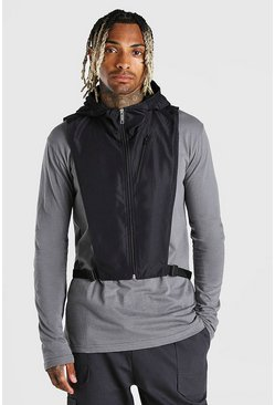 Black Man hood and snood layer