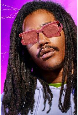 Pink MAN x Roberi & Fraud Square Frame Sunglasses