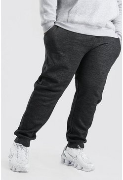 Plus Size Basic Skinny-Fit Jogginghose, Anthrazit