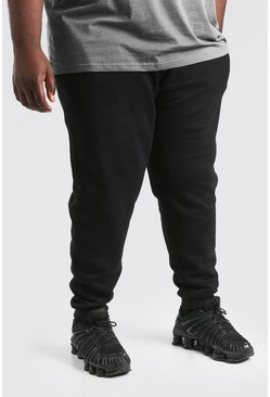 Jogging coupe slim MAN Dash Big And Tall, Noir