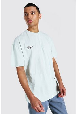 Stone Tall Oversized Official Washed T-shirt