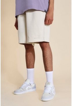 Grey marl Tall Oversized Official Jersey Short