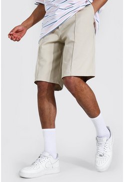 Ecru Tall Skate Chino Shorts