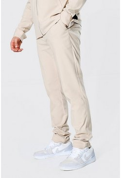 Tan Skinny Smart Coord Trousers