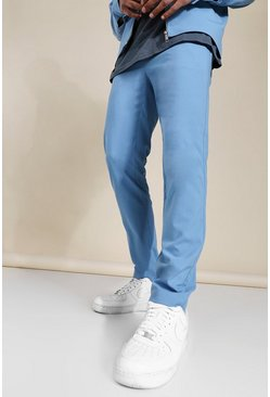 Blue Skinny Smart Coord Trousers