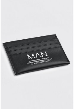 Black Man Print Extended Card Holder