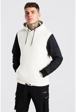 Stone MAN Official Hoodie With Puffer Sleeve