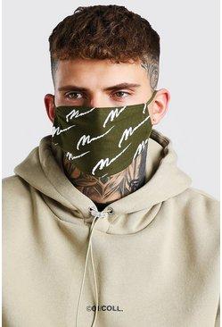 5 pack multi Man script fashion masks