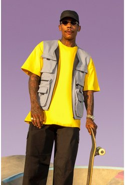 Grey MAN Skate Utility Vest