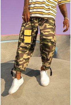 Brown Skate Camo Cargo Trouser
