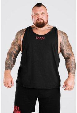Black MAN Active X Beast Active Racer Vest