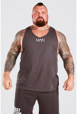 Charcoal MAN Active X Beast Active Racer Vest