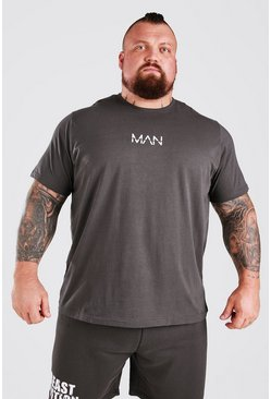 Charcoal MAN Active X Beast T-Shirt With Print Detail