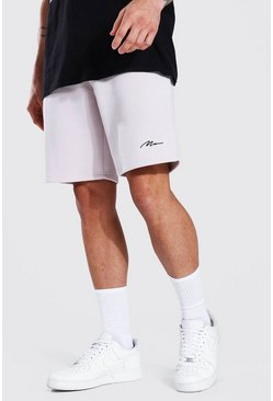 Stone Man Signature Mid Length Regular Jersey Short