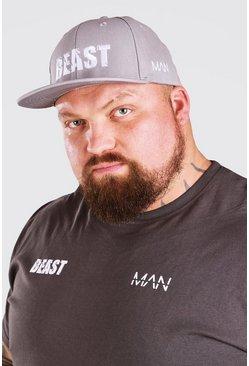 Charcoal MAN Active X Beast Print Trucker Cap