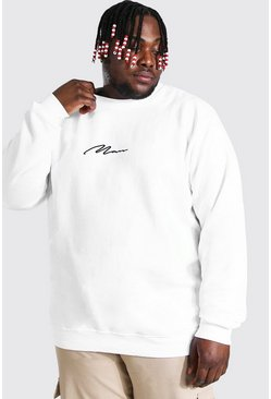 Grande taille - Sweat - MAN, Blanc