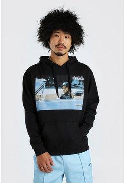Black Ice Cube Rolling License Hoodie