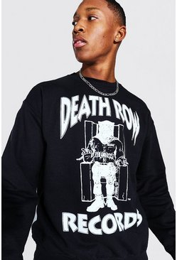 Black Death Row Records License Sweater