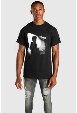 Black Prince License Photo Print T-Shirt