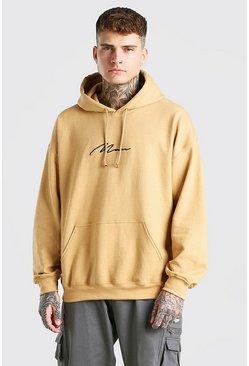 Mustard MAN Signature Oversized Hoodie