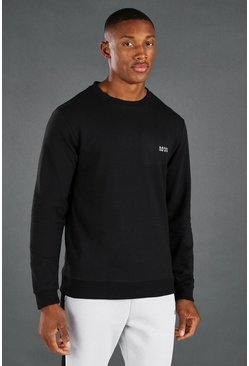 Black MAN Active Muscle Fit Sweat