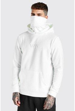 Ecru MAN Official Snood In Polar Fleece