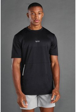 MAN Active Utility T-shirt , Black