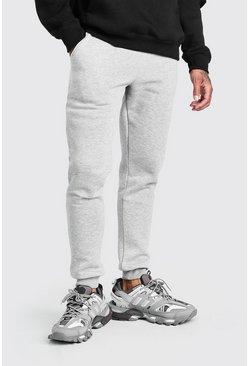 Grey Basic Skinny Fit Joggers