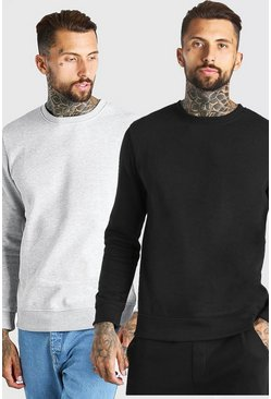 Multi 2 Pack Basic Sweatshirt