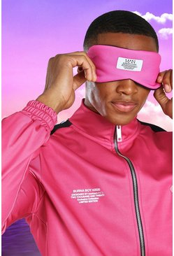Pink Burna Boy Eye Mask