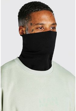 Black Plain Snood 3 Pack