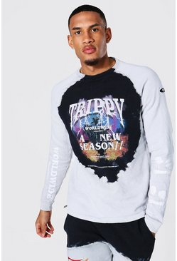 Stone Tall Oversized Man Trippy Tour Sweater