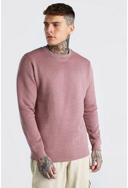 Brown Basic Sweater