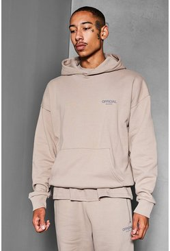 Taupe Official Collection Heavyweight Hoodie