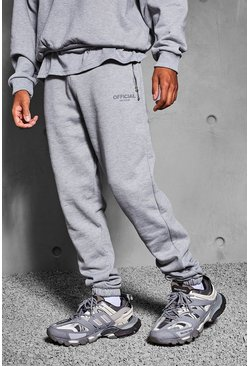 Grey marl Official Collection Heavyweight Jogger