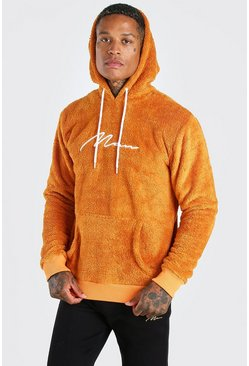 Rust Borg MAN Signature Over The Head Hoodie