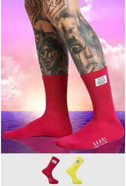 Multi Burna Boy 2 Pack Sock