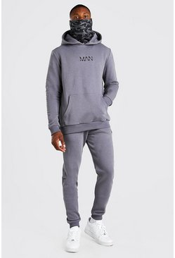 Slate Original MAN Camo Snood Tracksuit