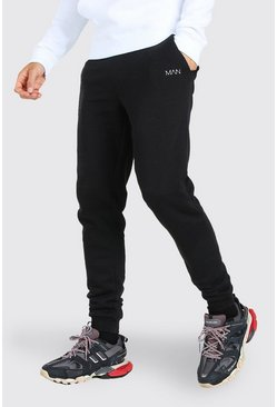 Tall Original MAN Skinny Joggers, Black