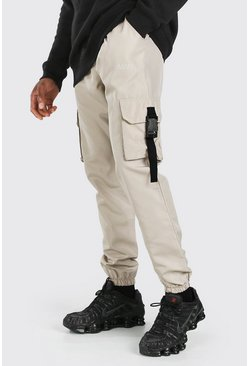 Stone Original MAN Shell Buckle Cargo Trouser