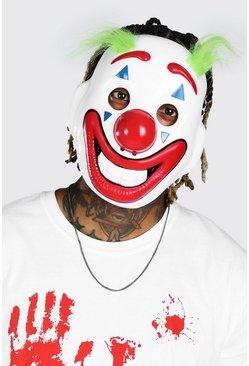 Multi Halloween Clown Face Mask
