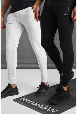 Multi Active 2 Pack Skinny Joggers With Zip Pockets