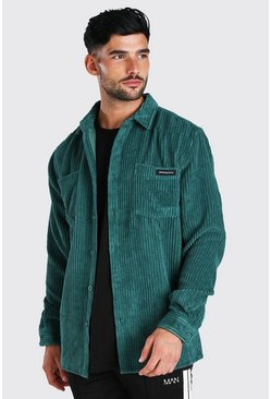 Forest Long Sleeve Jumbo Cord Overshirt