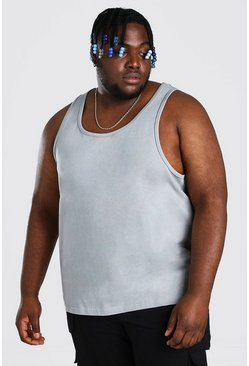 Charcoal Plus Size Basic Vest