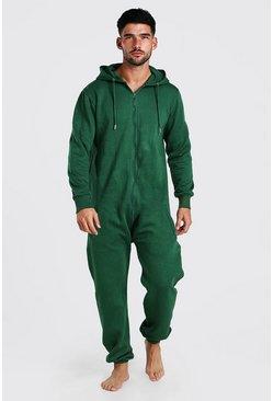 Green Hooded Onesie
