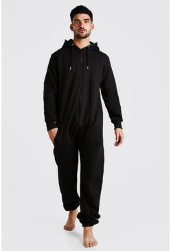 Black Hooded Onesie